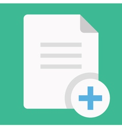 Copy Document Icon vector image