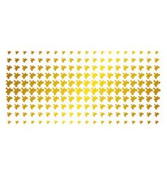 Plugin gold halftone effect vector