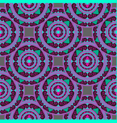 Seamless geometric pattern in the oriental style vector