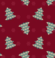 Christmas tree- vector image vector image