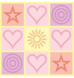 Valentines Day congratulation card vector image vector image