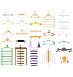 Hanger for clothes vector image vector image