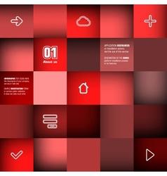 Trendy design infographic vector image