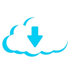 Cloud storage download vector