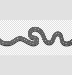 Creative of winding curved vector