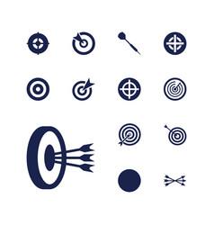 Dart icons vector