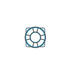 help icon design essential icon vector image