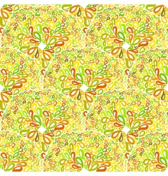 Moroccan tiles ornaments in different colors vector image
