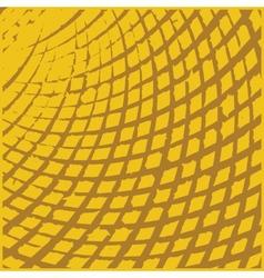 Yellow Grid Grunge Texture vector