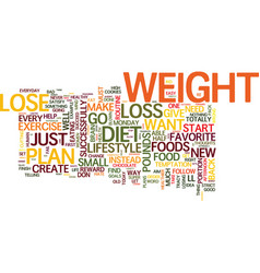 your brain can help you lose weight or make you vector image vector image