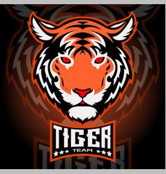 Esport harimau vector
