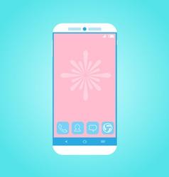Flat Smartphone 2 vector