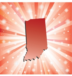 Red Indiana vector image