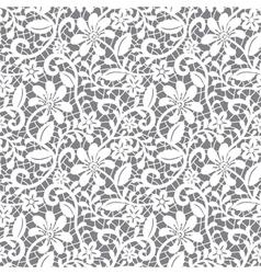 white guipure vector image