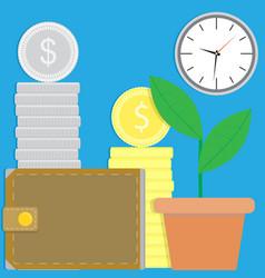 financial success vector image