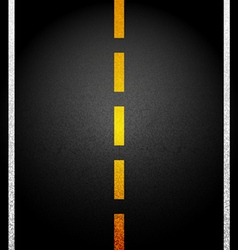 background Asphalt road vector image