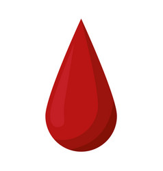 blood drop donate donor vector image vector image