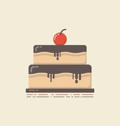 430retro flat cakeVS vector