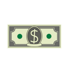 Dollar bill icon money cash vector