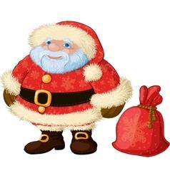 Good chubby santa vector