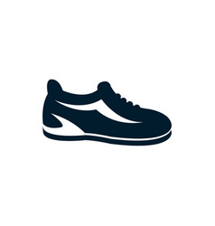 Isolated cycling shoe icon flat design vector