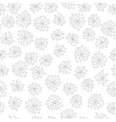 seamless black and white pattern with vector image