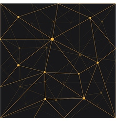Seamless triangle abstract background design vector