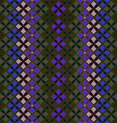 seamless pattern of squares in vintage style vector image