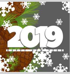 2019 greeting card vector