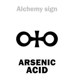 Alchemy arsenic acid vector