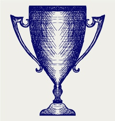 Award trophies vector