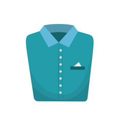 Clothes in laundry icon vector