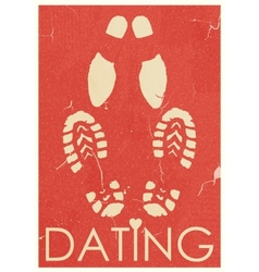 Dating Rendezvous vector image