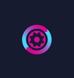 Operations icon logo vector