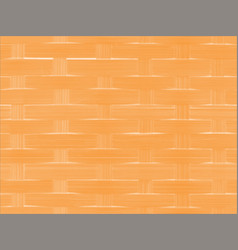 Orange basket background texture vector