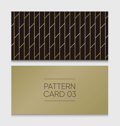 pattern-card-03 vector image