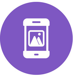 photos app vector image
