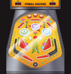 Pinball machine composition vector