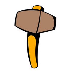 Sledgehammer icon icon cartoon vector