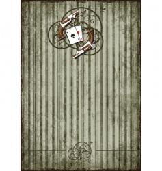 grunge background with vintage vignette vector image vector image