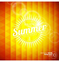 Abstract background on a summer holiday theme vector