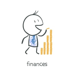 Finances vector image