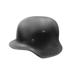 German helmet in vector