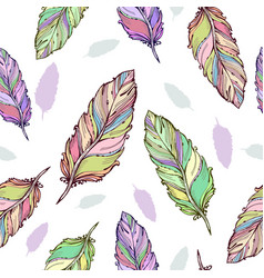 graphics artistic stylized seamless pattern vector image