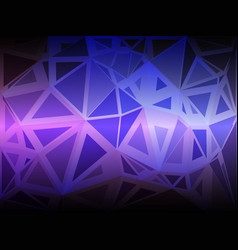 Purple lilac pink random sizes low poly background vector