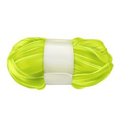 yarn wool clew vector image