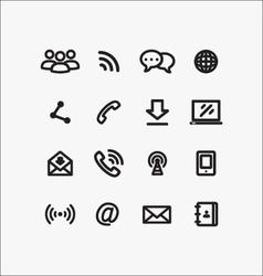 Communication 00017 vector