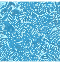 Seamless topographic contour map pattern seamless vector image vector image