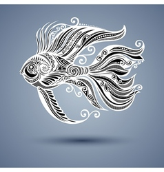 Abstract Sea Fish vector image
