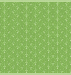 Abstract triangles vintage green background vector